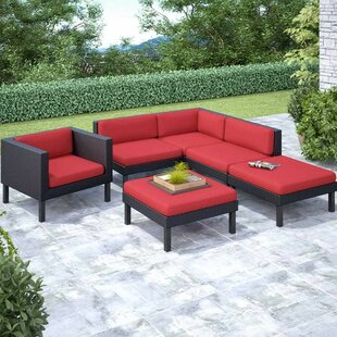 Zoar 6 Sectional Set with Cushions