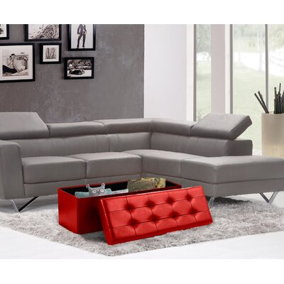 30 Inch Storage Ottoman Wayfair