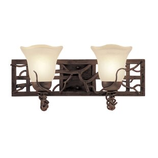 Kalco Vine On Lattice 2-Light Vanity Light