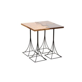 Puzzle 4 Piece End Table Set