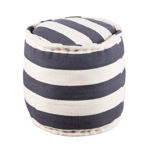 Gorby Wide Tufted Pouf by Breakwater Bay