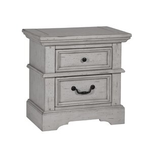 New Style Wallner 2 Drawer Nightstand by Ophelia & Co. Reviews (2019) & Buyer's Guide