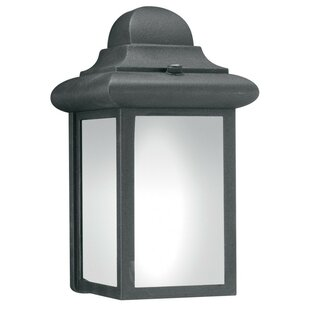Charlton Home Watertown 1-Light Outdoor Flush mount