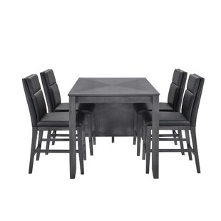 Oak Hill 5 Piece Pub Table Set..