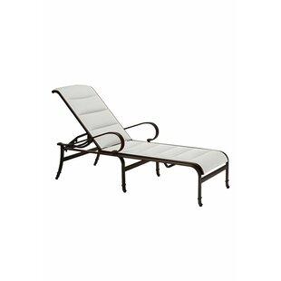 Tropitone Torino Chaise Lounge with Cushion