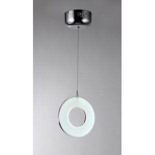 Orren Ellis Bradly 1-Light Geometric Pendant