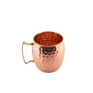 Cleghorn Hammered Moscow Mule 16oz. Copper Mug