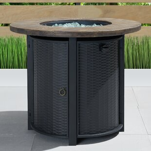 Logan Steel Propane Fire Pit Table