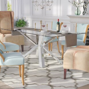 Marshall Dining Table Everly Quinn