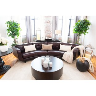 Ostby Leather Sectional