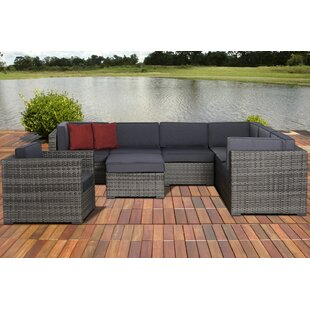 Breakwater Bay Caroline 8 Piece Sectional Set with Cushions