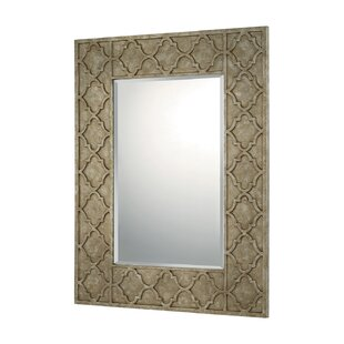 Darby Home Co Silver/Bronze Decorative Accent Wall Mirror