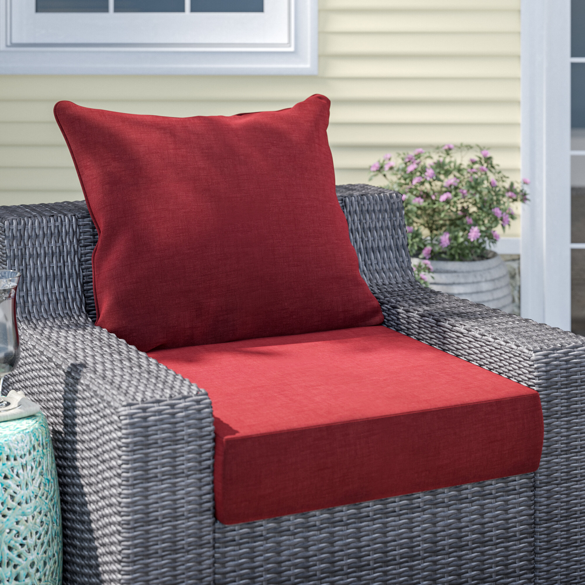 Bench Cushion Thick Padded,2//3 Seater Cushion Lounger Cushion,Non-Slip Long Chair Pad Deck Chair Cushion for Dining Patio Swing Brown,80 * 30cm
