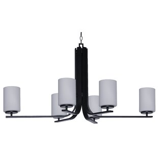 Whitfield Lighting Carmen 6-Light Shaded Chandelier