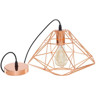 Light Society Wellington 1-Light Geometric Pendant