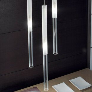 1-Light LED Cylinder Pendant by ZANEEN design