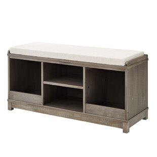 Kronqui Four-Cubby Storage Bench by Gracie Oaks