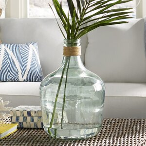 Recycled Glass Decorative Jug