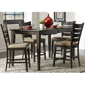 Hulings 5 Piece Dining Set by Red Barrel Studio