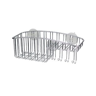 Spectrum Diversified Contempo Stainless Steel Wall Mounted Shower Caddy