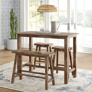 Raymundo 4 Piece Pub Table Set by Mistana Read Reviews