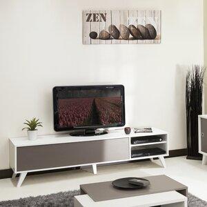 Tv schrank weiß hochglanz 120  Alle TV-Möbel: Stil - Skandinavisch | Wayfair.de