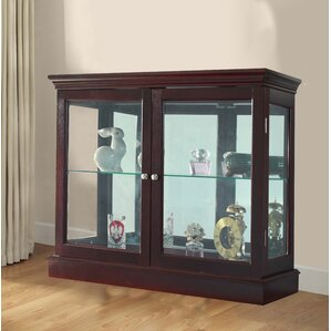 Grantham Floor Standing Curio Cabinet by Charlton Home