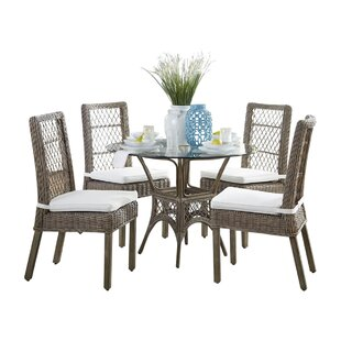 Seaside 6 Piece Dining Set Panama Jack Sunroom