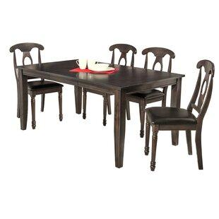 Haan 5 Piece Dining Set by Red Barrel Stu..
