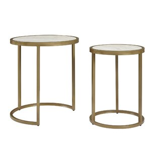 Superbe Selzer 2 Piece Nesting Tables