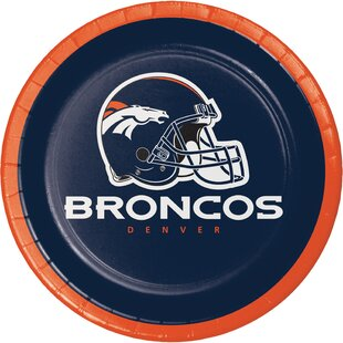 NFL Paper Dessert Plates (Set of 24)