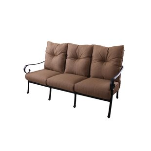 Carlitos Deep Seating Sofa with Cushion by Darby Home Co