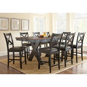 Amsterdam 9 Piece Counter Height Dining Set