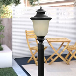 Affordable Rockmill Aluminum 1-Light Lantern Head By Three Posts