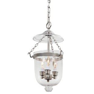 Alcott Hill Meaghan 3-Light Urn Pendant