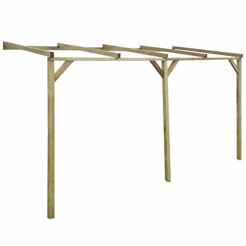 Rayne 2.2m x 3m x 2m Wood Pergola Sol 72 Outdoor Size: 220cm