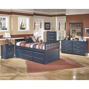 Cole Twin Slat Customizable Bedroom Set
