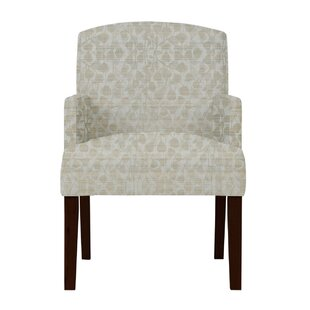 Arturo Gray Fabric Arm Chair by Langley Street
