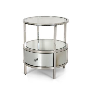 Cameron End Table with Storage by Rosdorf Park