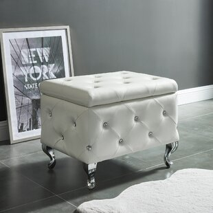 Linder Tufted Storage Ottoman By House of Hampton