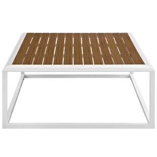 Rossville Outdoor Aluminum Coffee Table