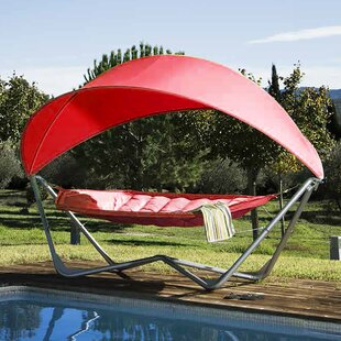 Iliana Backyard Camping Hammock with Stand