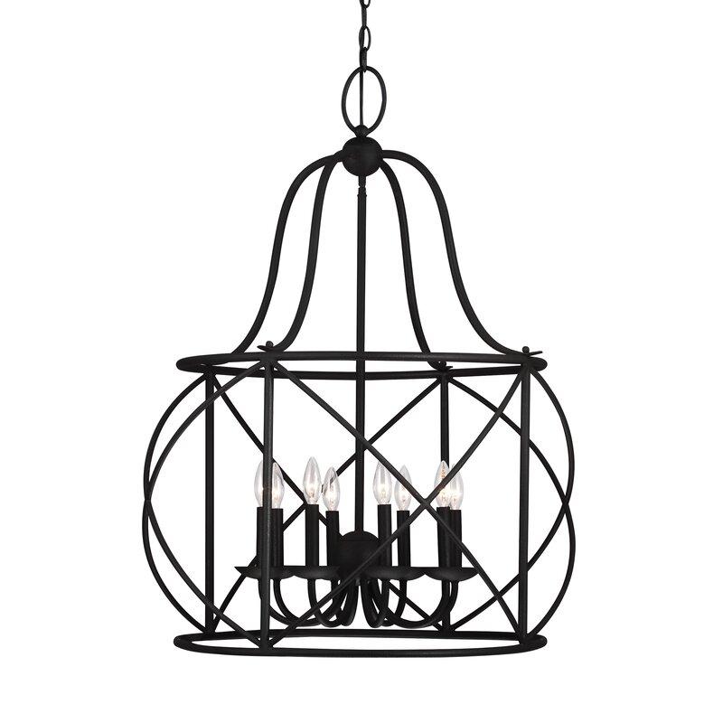 Darby Home Co Cottingham 8 Light Lantern Pendant Reviews