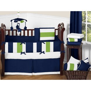 Price comparison Stripe 9 Piece Crib Bedding Set BySweet Jojo Designs