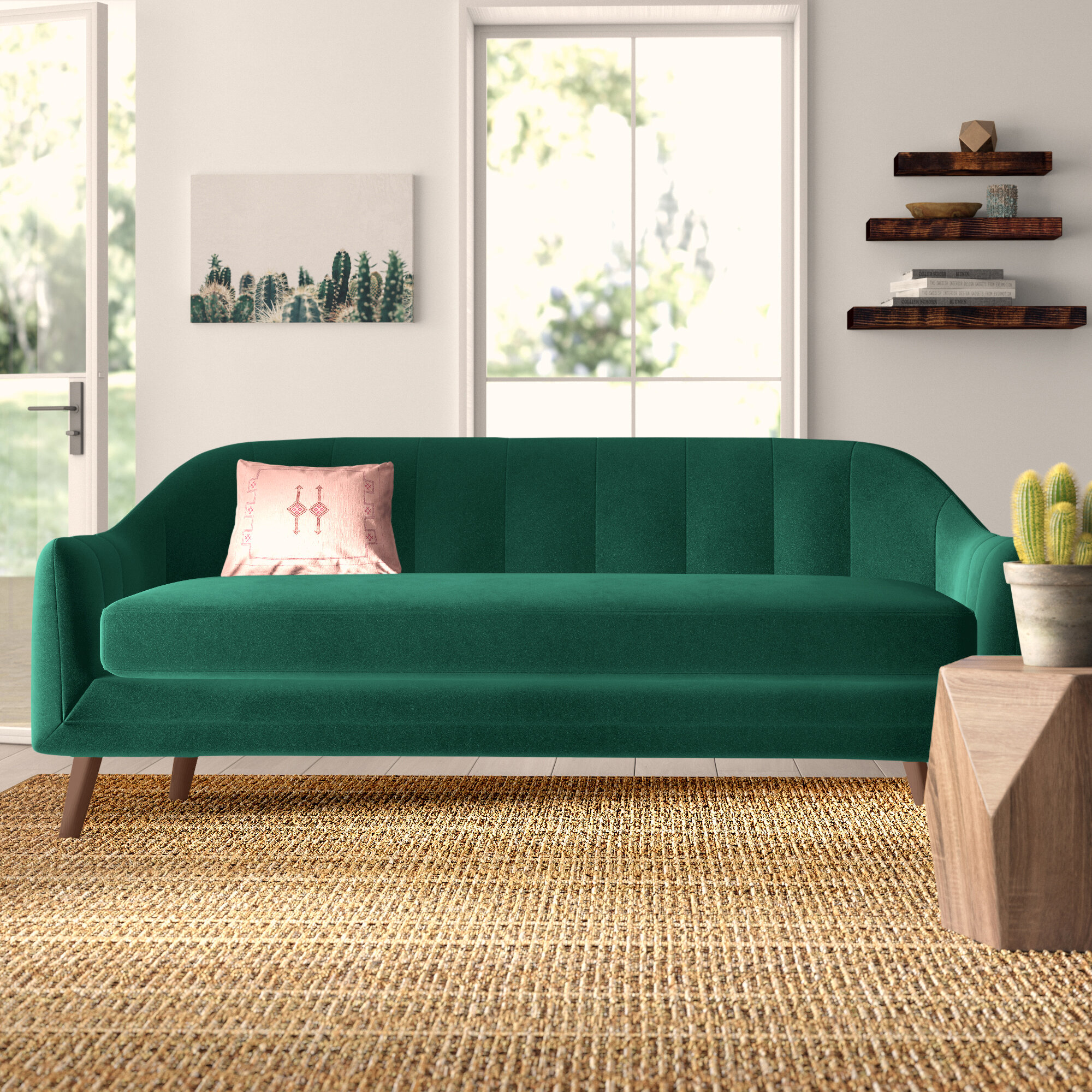 Picture of: Green Sofas Couches You Ll Love In 2020 Wayfair