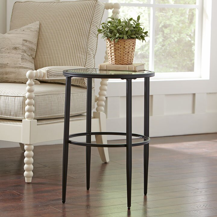 Harlan Round Side Table Reviews Birch Lane