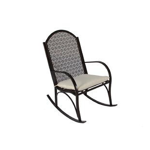 Potomac Rocking Chair With Cushions by Alcott Hill Best