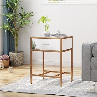 Naida End Table With Storage by Ivy Bronx Comparison