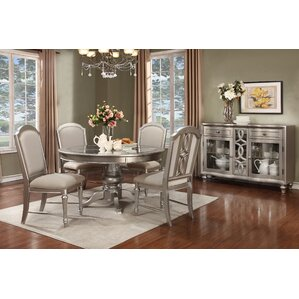 Redick 5 Piece Dining Set by Willa Arlo Interiors