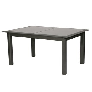 Kalem Extendable Aluminium Dining Table By Sol 72 Outdoor